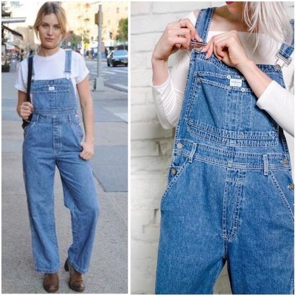 95394b6a5260 Calvin Klein Jeans Jeans | Calvin Klein Vintage Overalls | Poshmark